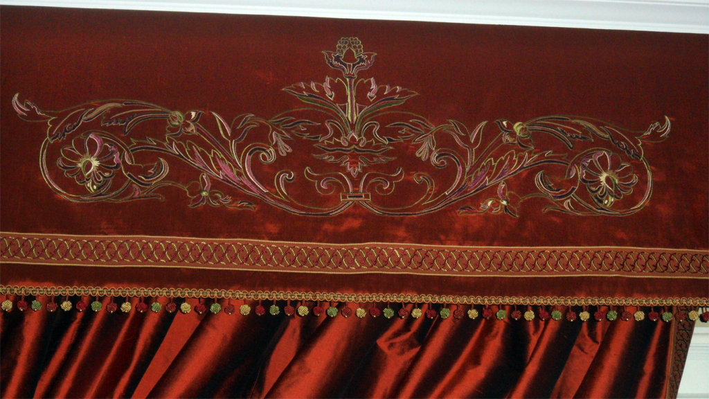 Embroydery Valance Detail