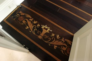Floor Marquetry Detail