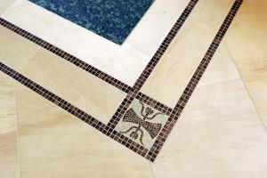 Indoor Pool Deck Detail