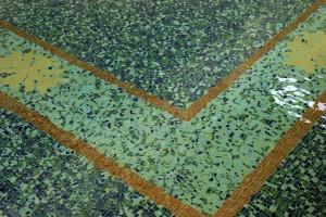 Indoor Pool - glass mosaic