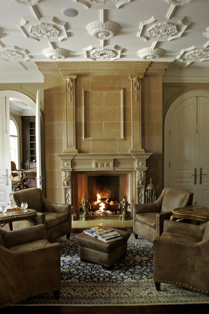 Lounge Bespoke Fireplace